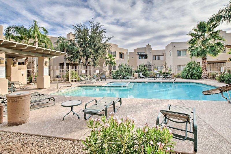 Les piscines sont chauffées dans les mois d'hiver donnant accès toute l'année.