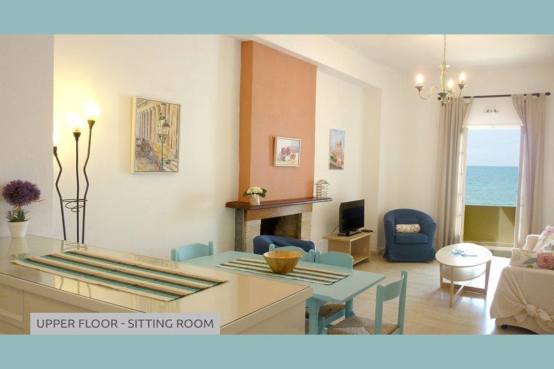 Sitting room - Upper Floor Apartment.