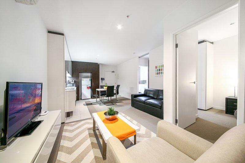 Un interior espacioso, cómodo y cálido.