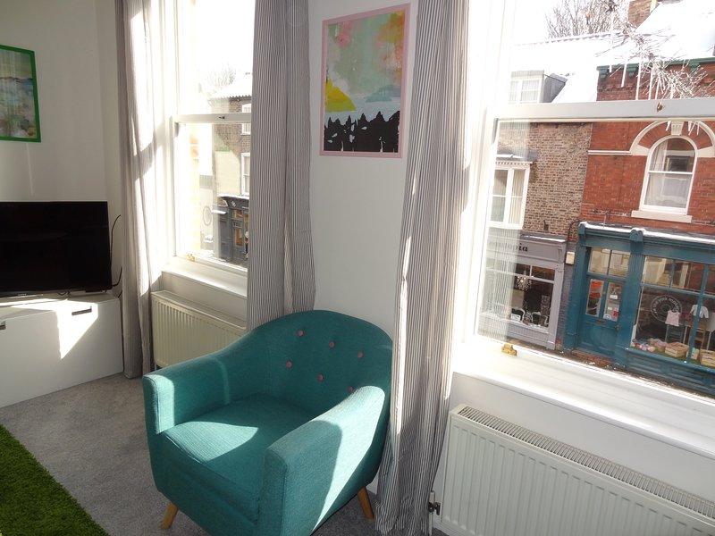 Living Room - Tall Ceilings