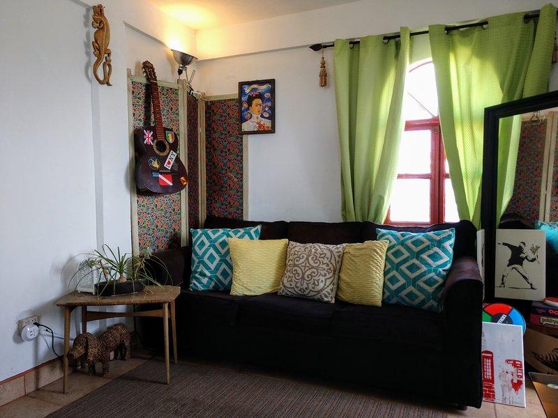 El estudio può ospitare fino a quattro quando si utilizza il divano-letto