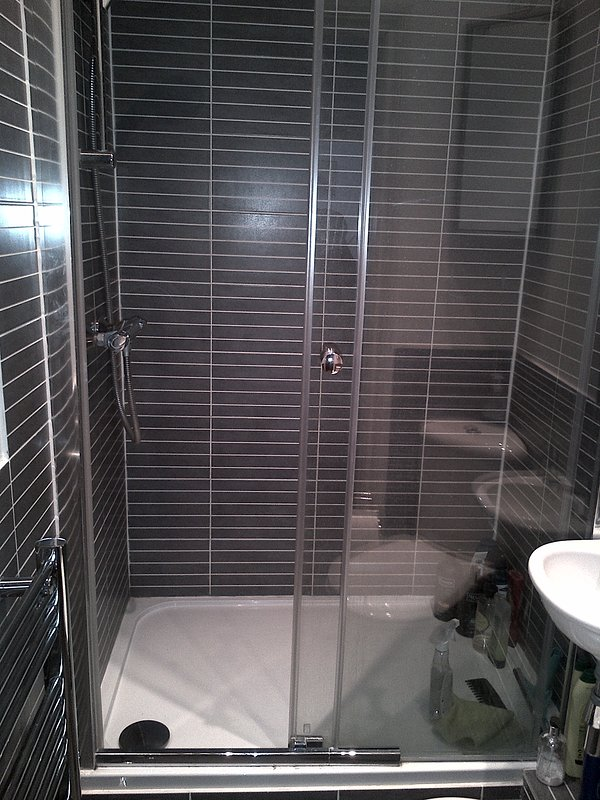The main shower room