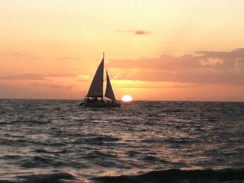 .Try a sunset cruise - find it in our guest book.