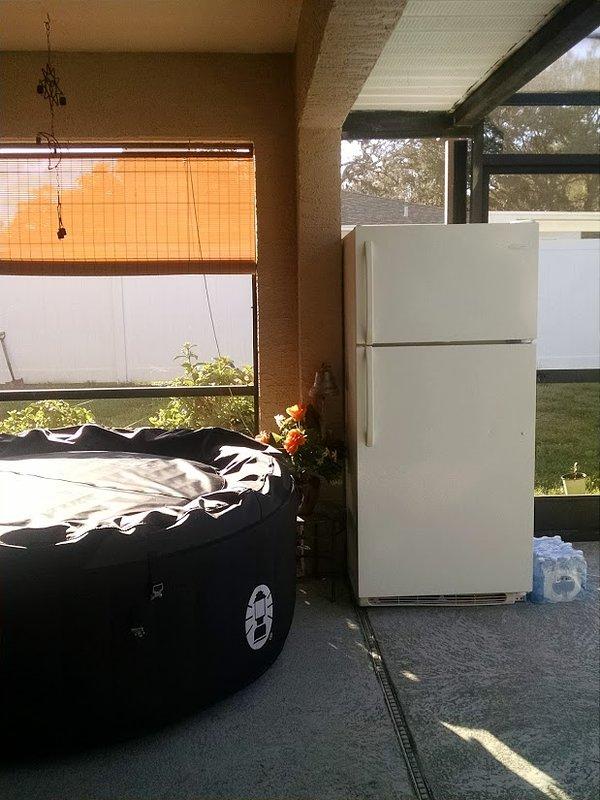 Grote koelkast alleen voor gasten