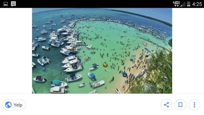 alleen Anclote Island bereikbaar per boot