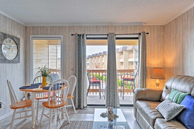 Willkommen in Ihrer hellen Hilton Head Island Villa mit 1 Schlafzimmer und 1 Badezimmer.