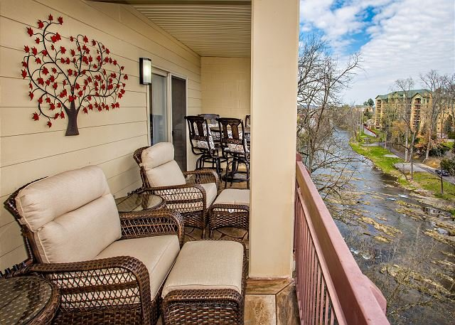 Private Balcony on the River