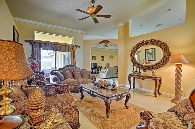 With elegant living spaces in a prime location, the 4BR, 2-bath home has it all.