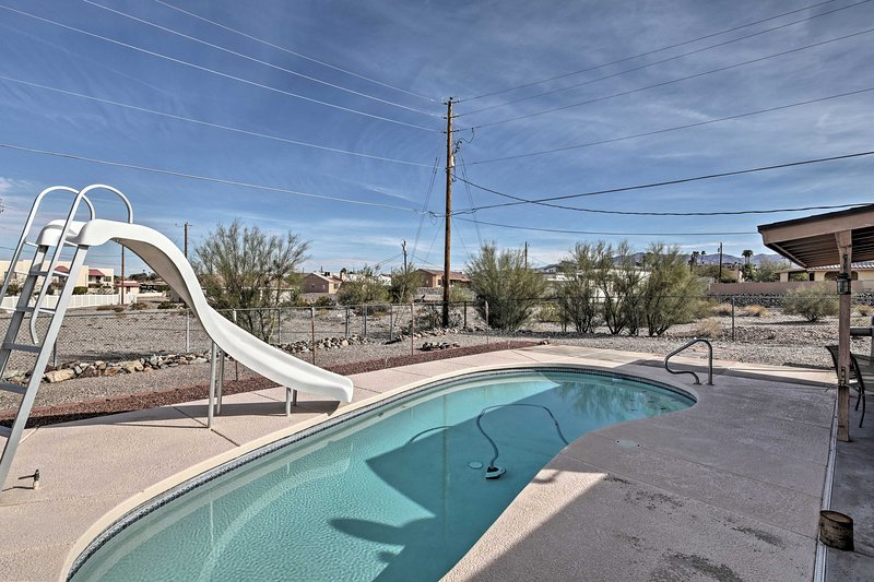 Find a private poolside paradise right here in your backyard.