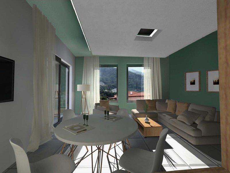 Deluxe Suite Okirroi, alquiler de vacaciones en Trikala