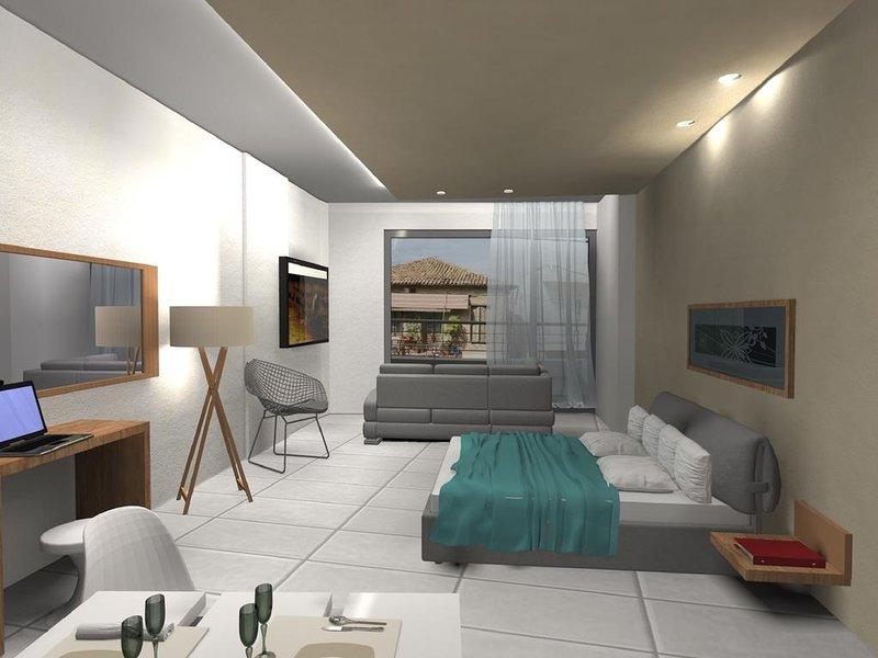 Deluxe Double Room Dioni, casa vacanza a Elliniko