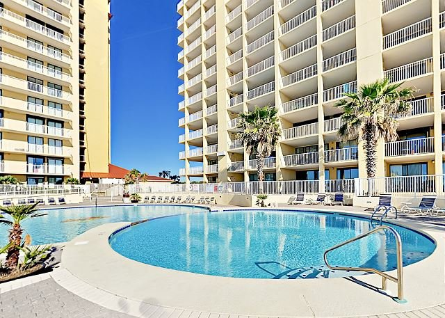 Top Floor Beachfront 3br At Summer House Condos Gulf Views Pool Sauna