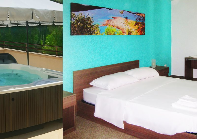 One bedroom apartment Superior Sea with outdoor Jacuzzi