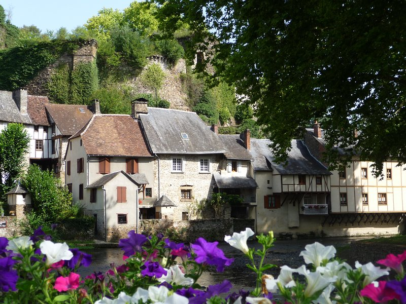 Nearby medieval village of Segur le Chateau is one of France's acclaimed 'most beautiful villages'