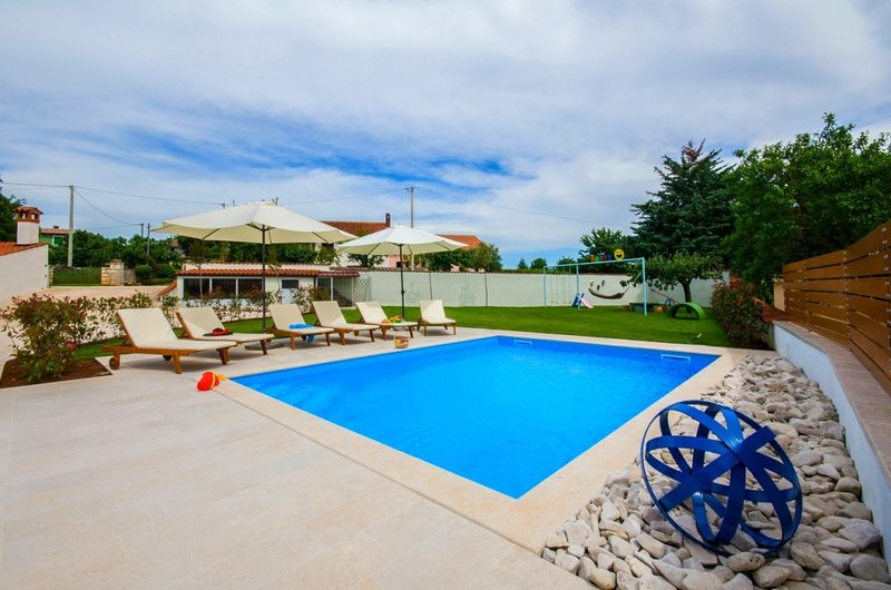 villa confortable à louer avec piscine, Istrie