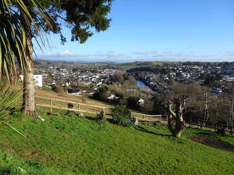 Vista verso Dartmoor e Haytor.