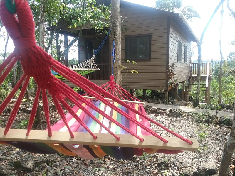 Hidden Haven - Heliconia Studio Cabana in jungle, vacation rental in San Ignacio