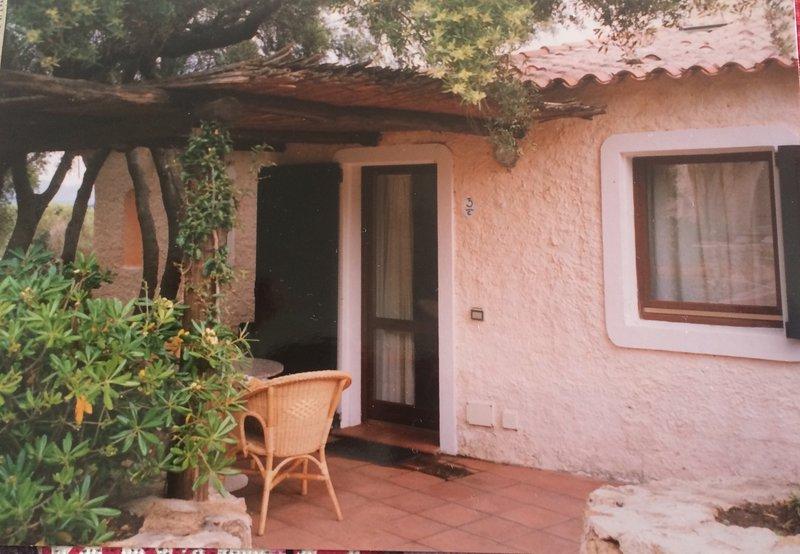 Villetta arredata residence Liscia di Vacca in Costa Smeralda, holiday rental in Poltu Quatu