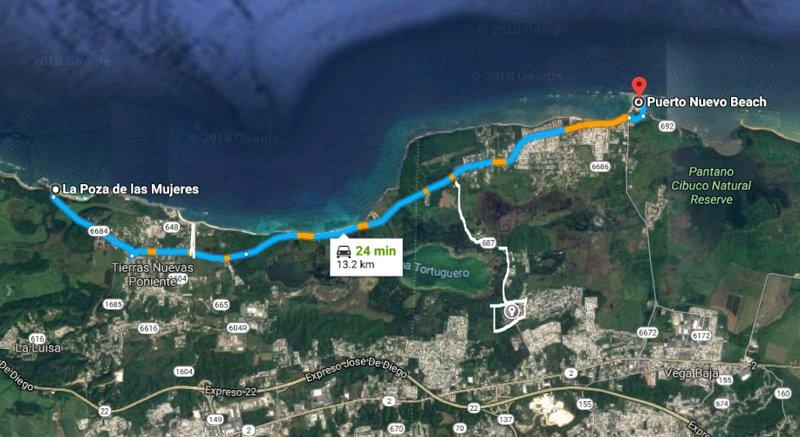 Ruta de las playas, la laguna y dos reservas naturales