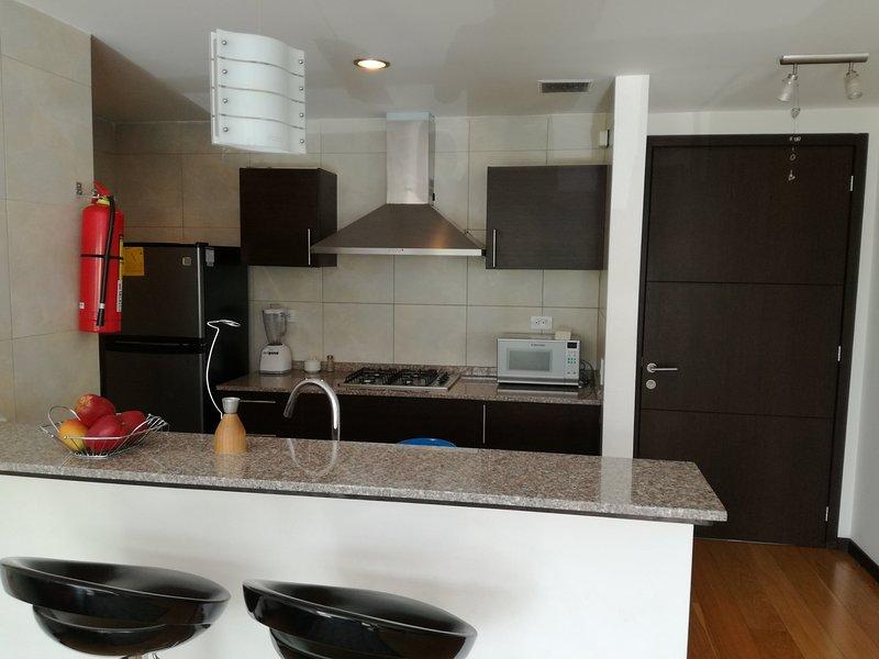 Suite amoblada en el sector más accesible del Quito moderno, vacation rental in Puerto Quito