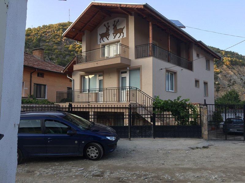 La casa al exterior