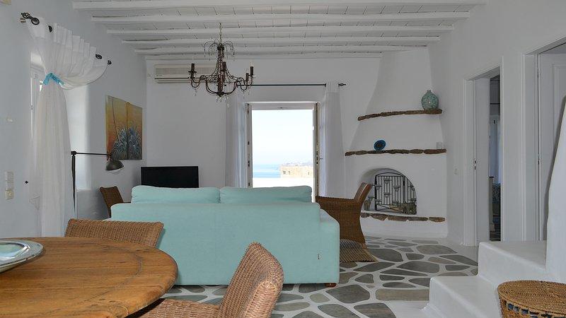 Living room, sea view