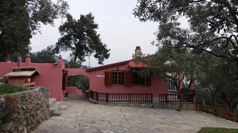 Our House 2 /Aegean House, aluguéis de temporada em Symvoli