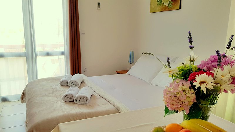 Fully Equipped Studio Apartment with Sea view, alquiler vacacional en Petrovac