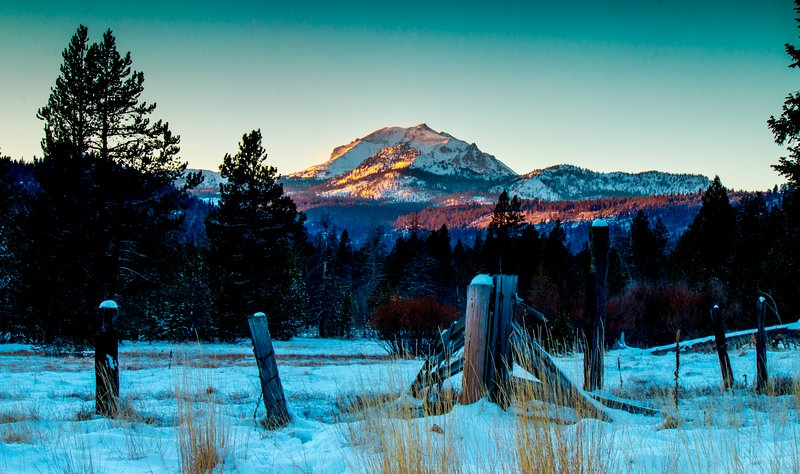 Mount Lassen.