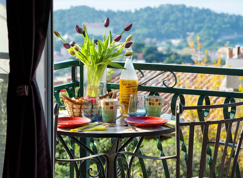 Start your day with breathtaking view while having your breakfast on the balcony