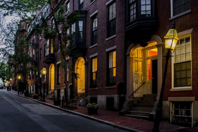 Hancock Street (werkelijke straat van de huur)