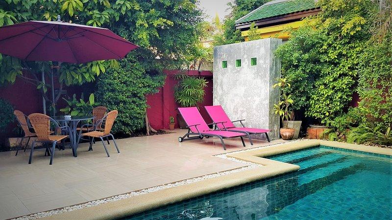 View Talay Jomtien beach pool villas No.07, holiday rental in Jomtien Beach