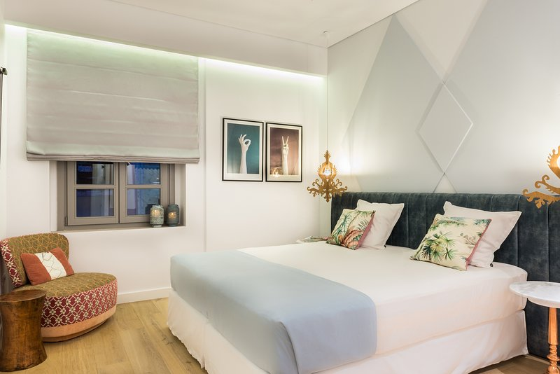 Luxurious boutique room