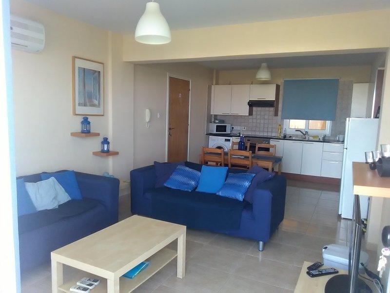 Living area view from front door