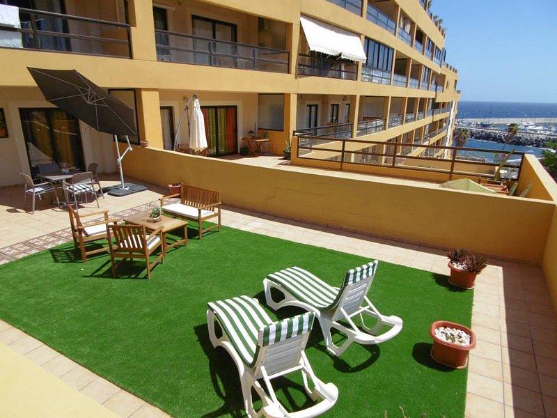 Huge private terrace