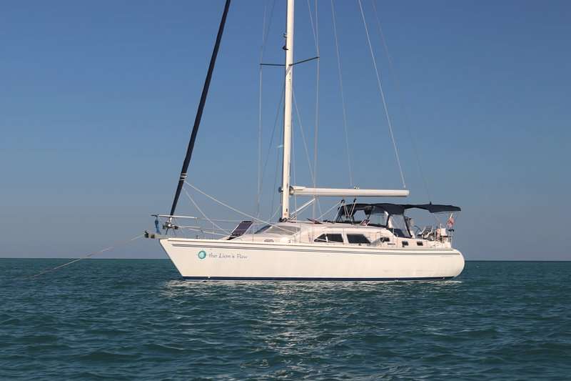 Fast and luxurious, this Catalina Morgan was built to sail.