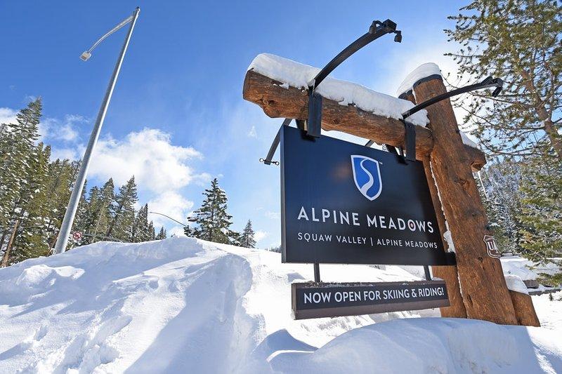 Außerdem Alpine Meadows liegt nur 5 Minuten mit dem Auto!