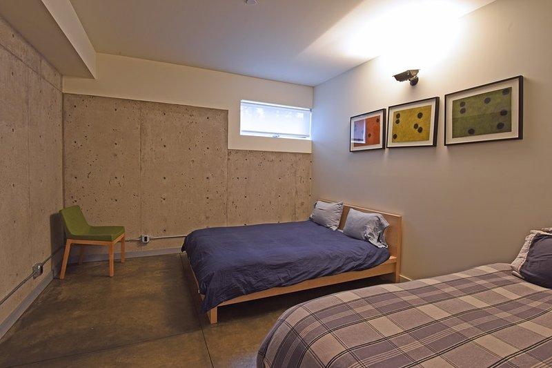 Drittes Schlafzimmer, Königin und ein Doppelbett mit Trundle