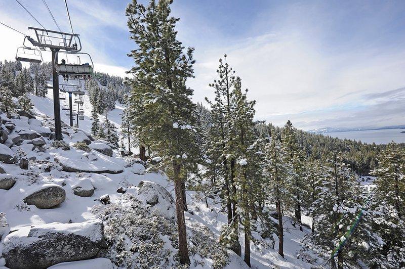 Ir para Diamond Peak para esquiar