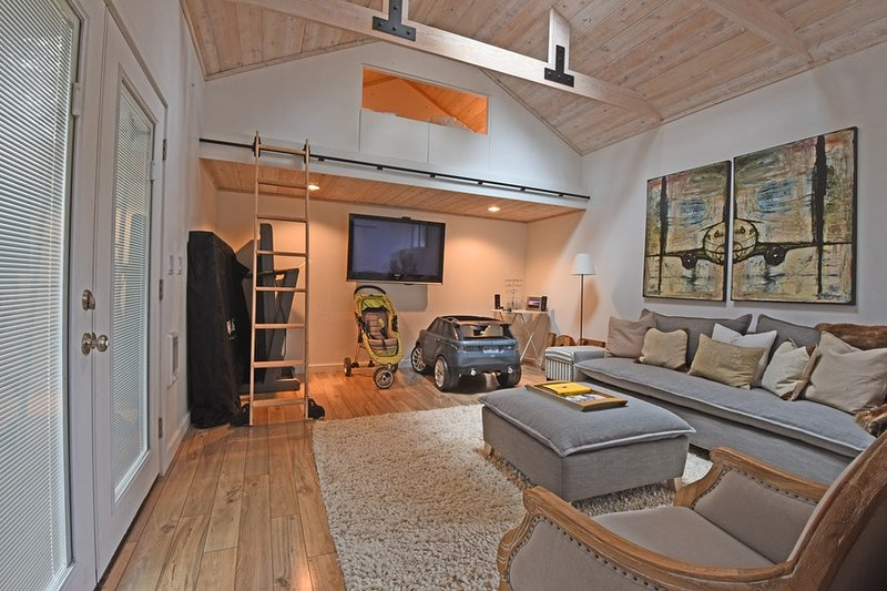 Loft and family room