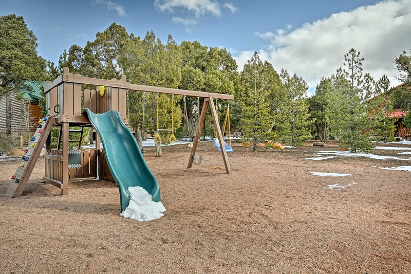 Your kids will love the community playground!