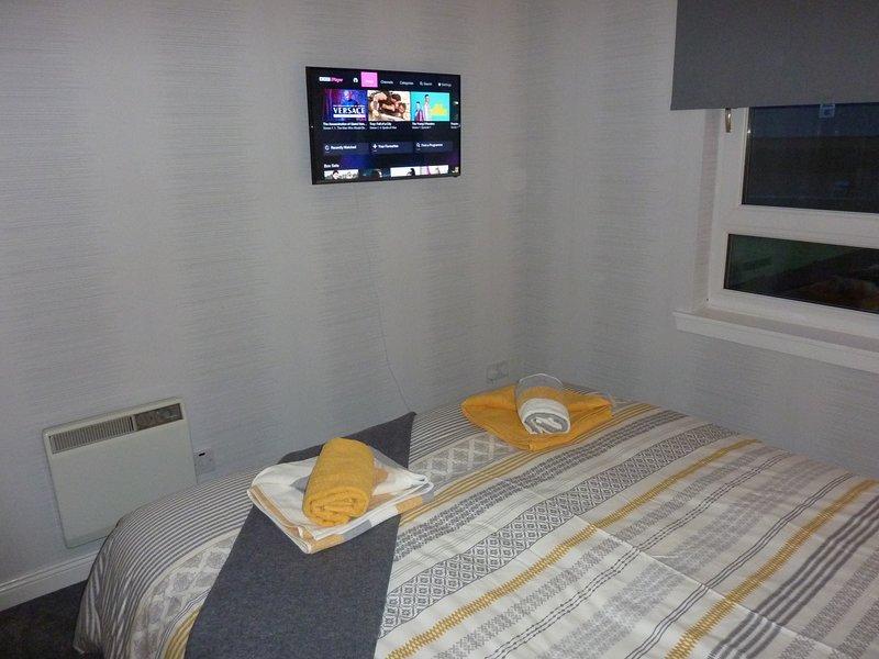 Sovrum 1 med 32 tums Smart TV
