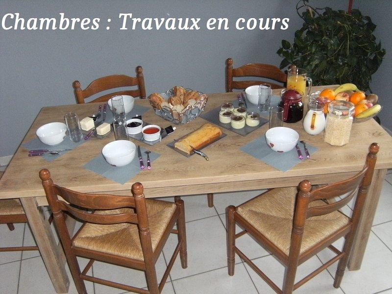 chambre d'hote familiale 5 P à 13km du Puy du Fou, location de vacances à Les Châtelliers-Châteaumur