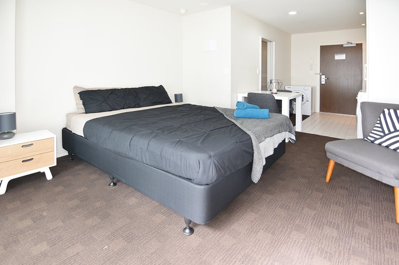 A comfortable & well furnished studio.