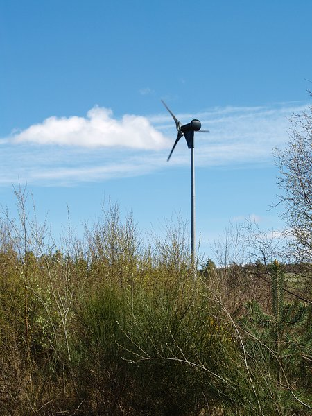 Easter Wood property windmill