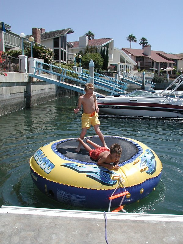Swim, kayak, paddleboard off your own dock or park your boat. Dock holds two 50' boats