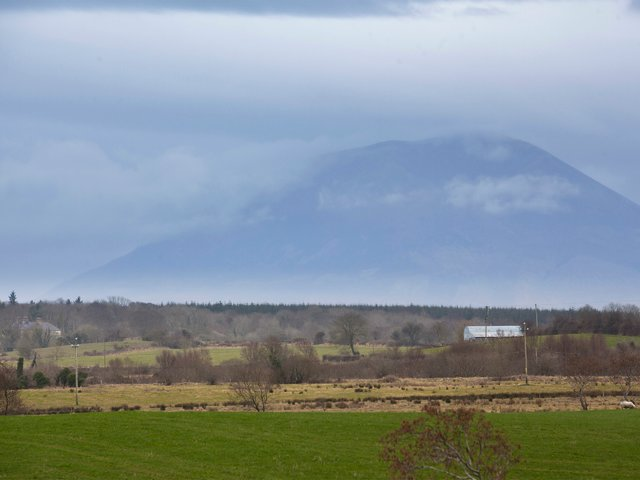 Nephin mountain from the property.