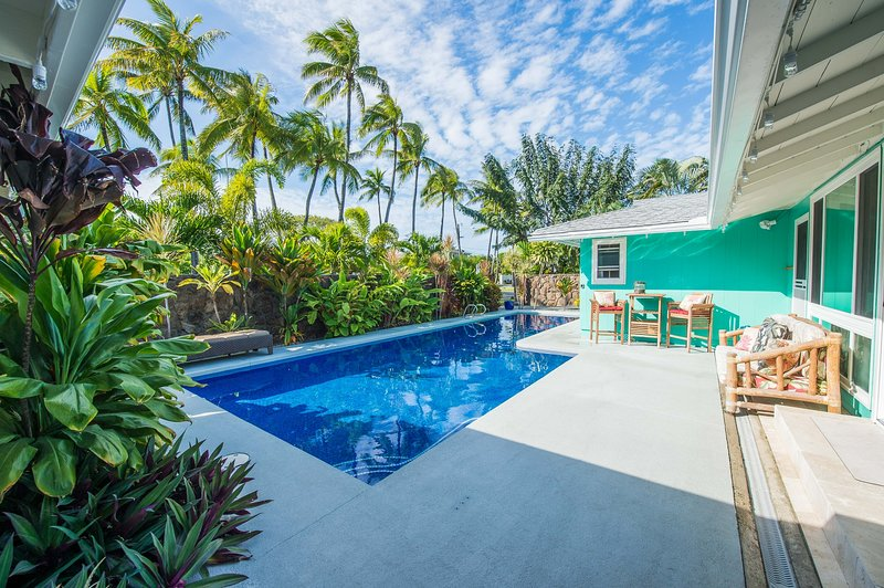 piscina giardino davanti