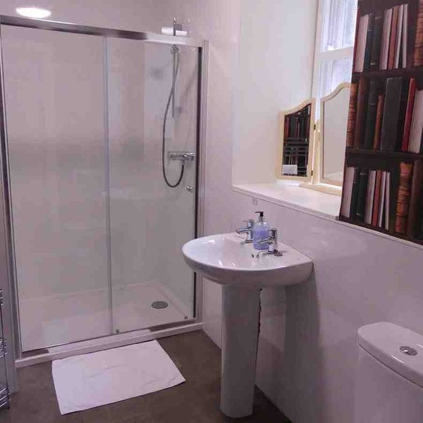 Modernised shower room