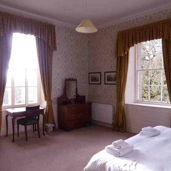 This double room also has a dresser